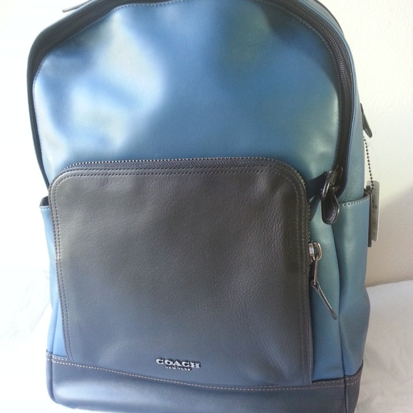 32caaaa45e Coach F37599 Men s Graham Leather Backpack